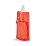 Squeeze Dobrável Personalizado - 420ml Vermelho