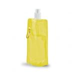 Squeeze Dobrável Personalizado - 420ml Amarelo