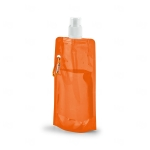 Squeeze Dobrável Personalizado - 420ml Laranja