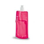 Squeeze Dobrável Personalizado - 420ml Rosa