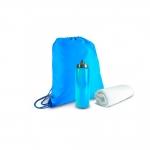 Kit Academia Personalizado Azul
