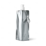 Squeeze Metalizado Personalizado - 460ml Prata