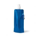 Squeeze Dobrável Personalizado - 460 ml Azul
