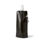 Squeeze Dobrável Personalizado - 460 ml Preto