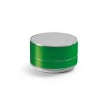 Caixa de Som com Microfone Personalizado Verde
