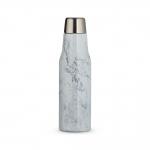 Garrafa Térmica de Inox em Mármore Personalizado - 550 ml