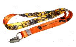 Cordão De Crachá Jacaré Personalizado 1,2 cm
