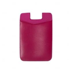 Adesivo Porta Cartão p/ Celular Personalizado Rosa