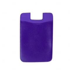 Adesivo Porta Cartão p/ Celular Personalizado Roxo