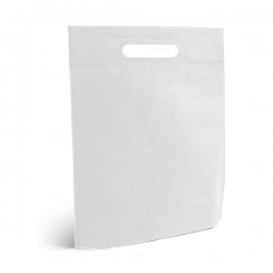 Sacola Grande em TNT Personalizada Branco