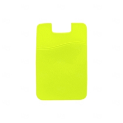 Adesivo Porta Cartão Personalizado Amarelo