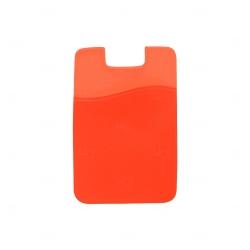 Adesivo Porta Cartão Personalizado Laranja