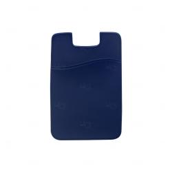 Adesivo Porta Cartão Personalizado Azul Marinho