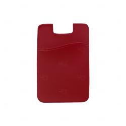 Adesivo Porta Cartão Personalizado Vermelho