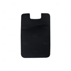 Adesivo Porta Cartão Personalizado Preto