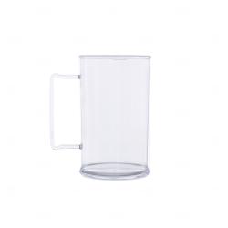Caneca Personalizada  Acrílica Transparente Color - 500 ml