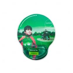 Mouse Pad Ergonômico Personalizado Verde