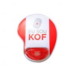 Mouse Pad Ergonômico Personalizado Vermelho