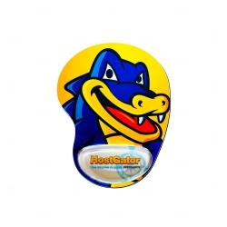 Mouse Pad Ergonômico Personalizado Amarelo