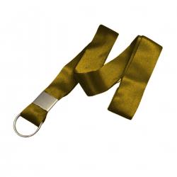 Cordão Personalizado Tirante Para Caneca 100% Amarelo