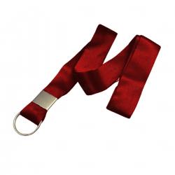 Cordão Personalizado Tirante Para Caneca 100% Vermelho