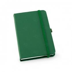 Caderno tipo Moleskine Personalizado - 21 x 14 cm Verde