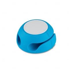 Organizador De Cabos Personalizado Azul Claro