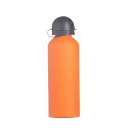 Squeeze Alumínio Fosco Personalizado - 500ml Laranja
