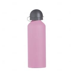 Squeeze Alumínio Fosco Personalizado - 500ml Rosa
