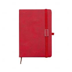 Caderno Capa Dura Personalizado - 21,5 x 15 cm Vermelho