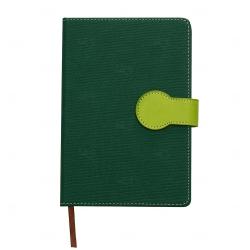 Caderno Capa Dura Personalizado - 21,5 x 15 cm Verde