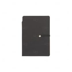 Bloco de Anotações com Autoadesivos Personalizado - 14,3 x 10 cm Preto