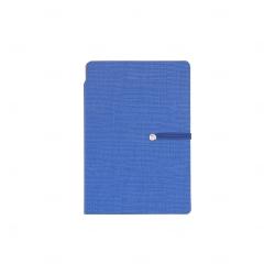 Bloco de Anotações com Autoadesivos Personalizado - 14,3 x 10 cm Azul