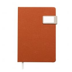 Caderno Com Fecho Magnético Personalizado - 21,3 x 15 cm