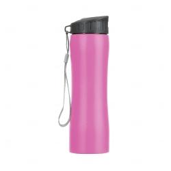 Squeeze Metal Personalizada - 600 ml Rosa