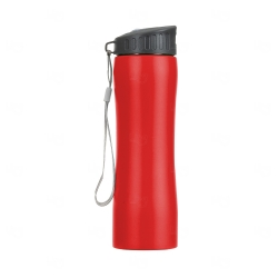 Squeeze Metal Personalizada - 600 ml Vermelho