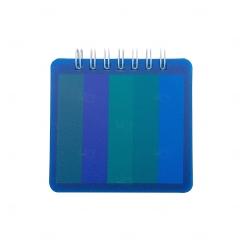 Bloco de Anotações Com Post it Personalizado - 8,6 x 8,5 cm Azul