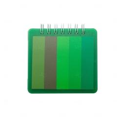 Bloco de Anotações Com Post it Personalizado - 8,6 x 8,5 cm Verde