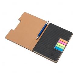 Caderneta tipo Moleskine - 21 x 15 cm Personalizado