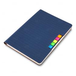 Caderno Personalizado  de Anotações - 21 x 15 cm Azul