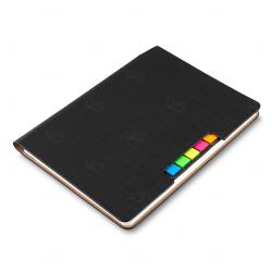 Caderno Personalizado  de Anotações - 21 x 15 cm Preto