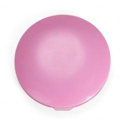 Espelho Duplo Com Luz Personalizado Rosa Claro