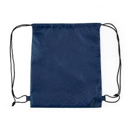 Sacochila de Nylon Personalizada - 41x34 cm Azul Marinho