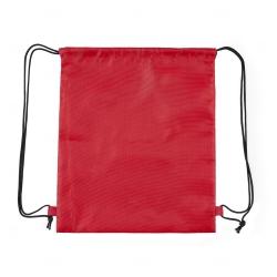 Sacochila de Nylon Personalizada - 41x34 cm Vermelho