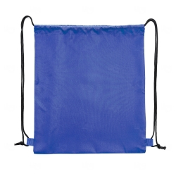 Sacochila de Nylon Personalizada - 41x34 cm Azul