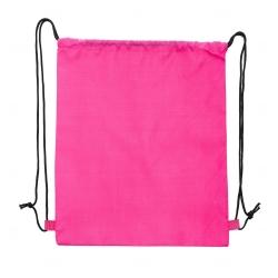 Sacochila de Nylon Personalizada - 41x34 cm Rosa Pink