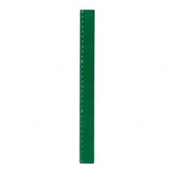 Régua Plastica Colorida Personalizada Verde