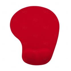 Mouse Pad Com Apoio De Silicone Personalizado Vermelho