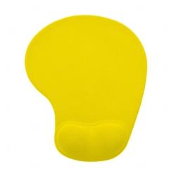 Mouse Pad Com Apoio De Silicone Personalizado Amarelo