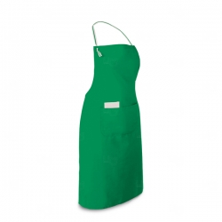 Avental Algodão E Poliéster Personalizado Verde